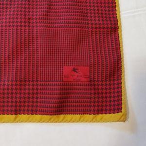 Etro silk scarf.
